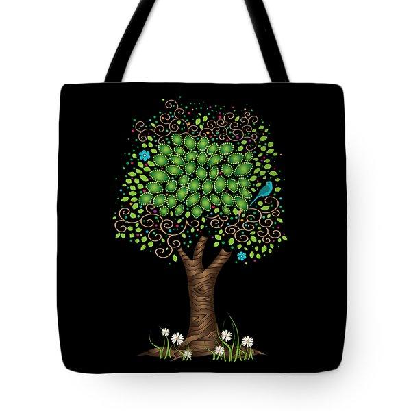Enchanted Tree Tote Bag by Serena King