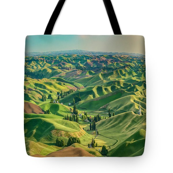 Enchanted Valley Award Winner Tote Bag