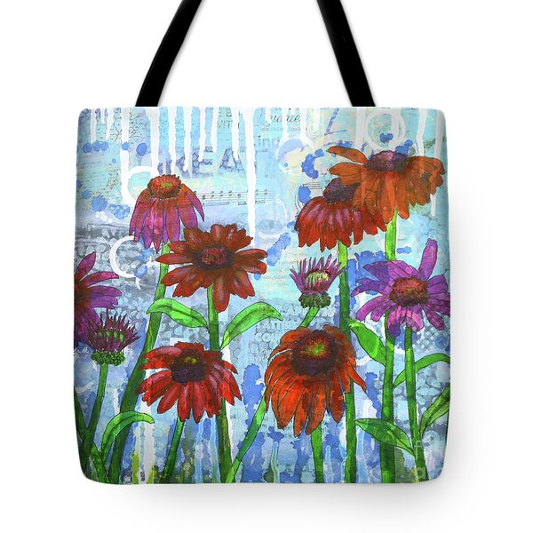 Enchanting Echinacea Tote Bag