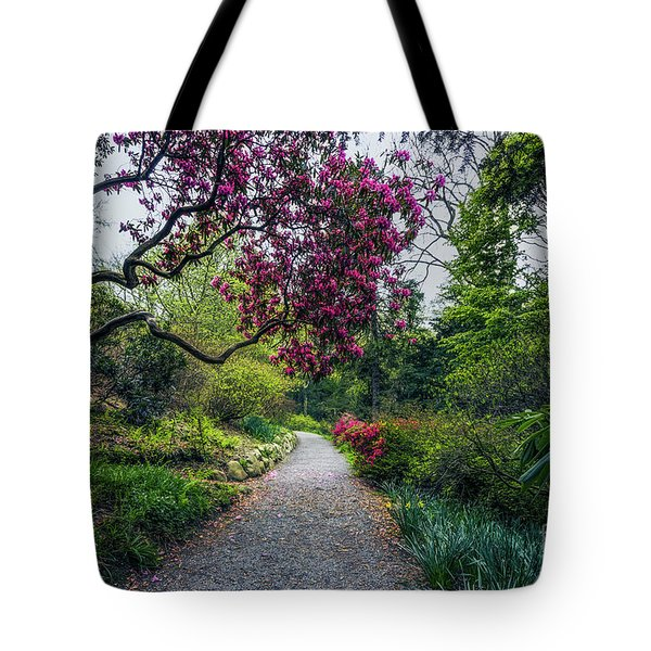 Enchanting Garden Tote Bag