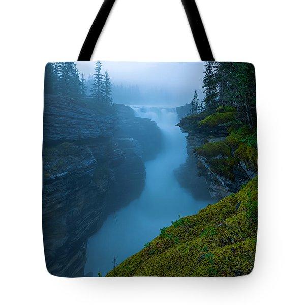 Enchanting Mist Tote Bag by Dustin  LeFevre