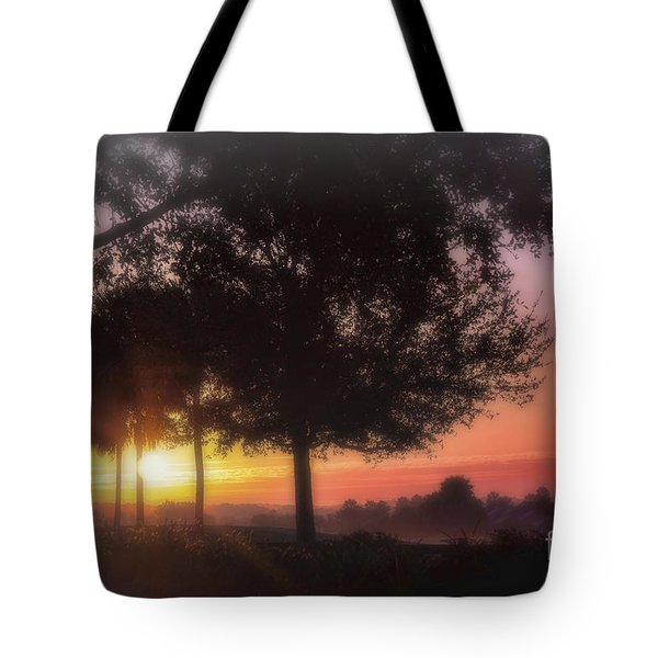Enchanting Morning Sunrise Tote Bag