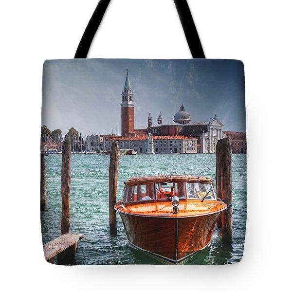 Enchanting Venice Tote Bag by Carol Japp
