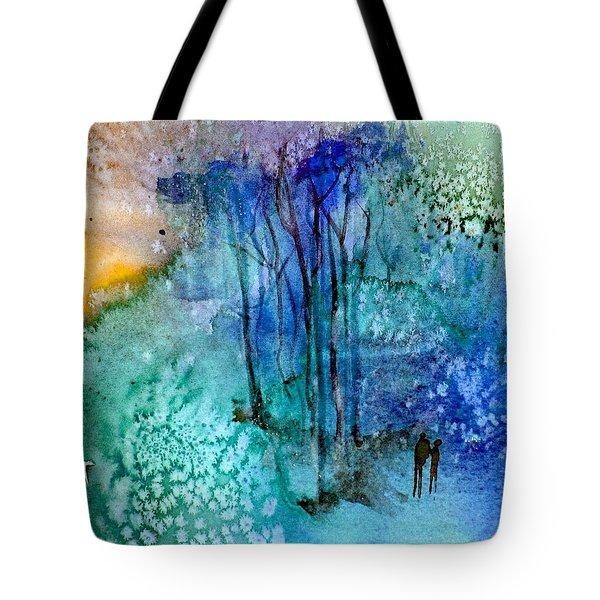 Enchantment Tote Bag by Anne Duke