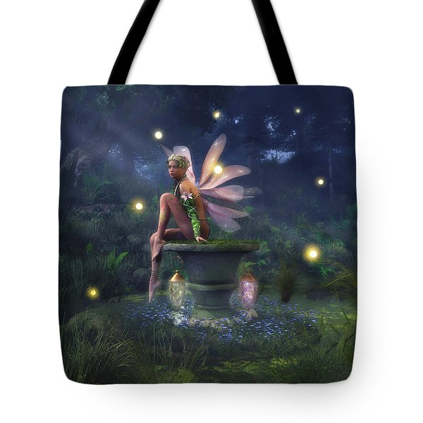 Enchantment - Fairy Dreams Tote Bag by Melissa Krauss