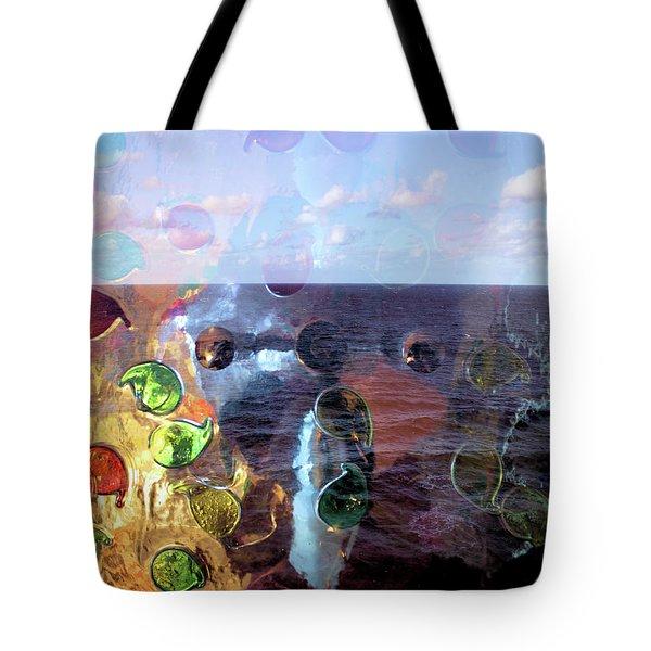 Enchantment Of The Seas Tote Bag