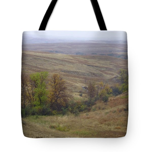 Enchantment Of The September Grasslands Tote Bag