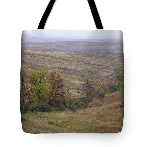 Enchantment Of The September Grasslands Tote Bag
