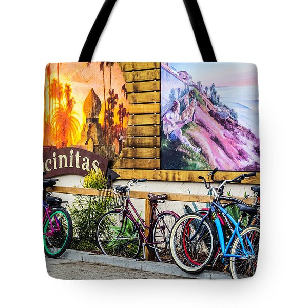 Bicycle Parking Tote Bag