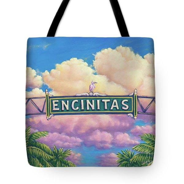 Encinitas Sunset Tote Bag