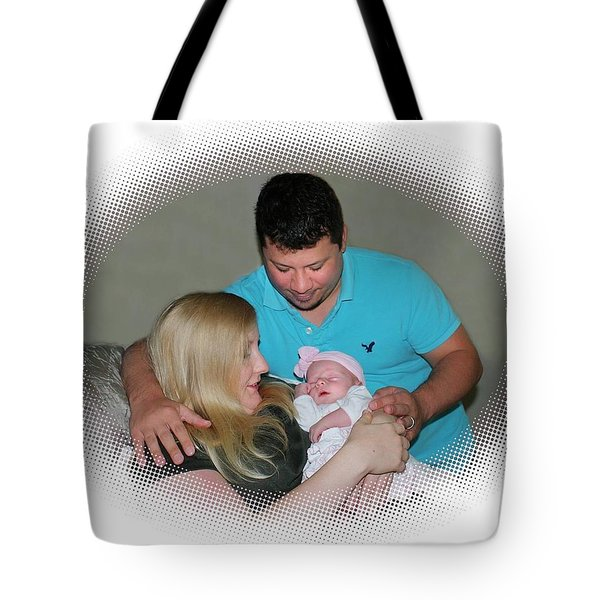 Encircled In Love Tote Bag by Ellen O'Reilly