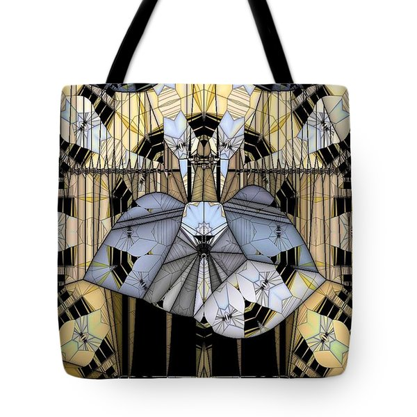 Enclosed Tote Bag by Ron Bissett