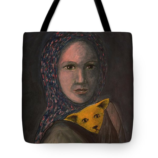 Encountering I Am Tote Bag by Tone Aanderaa