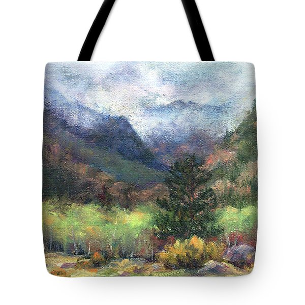 Encroaching Clouds Tote Bag