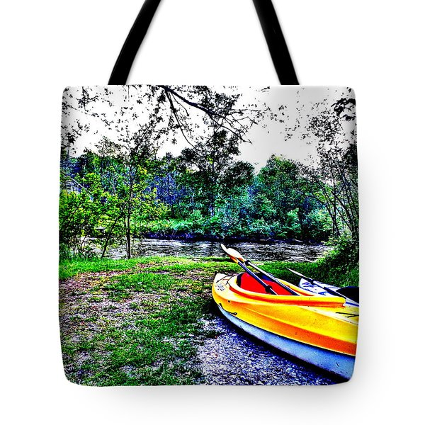 End Tote Bag