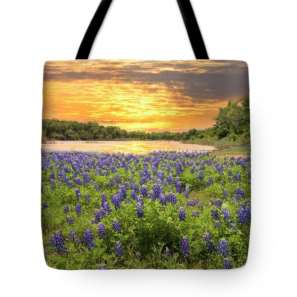 End Of A Bluebonnet Day Tote Bag