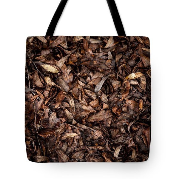 Tote Bag featuring the photograph End Of A Season by Serene Maisey
