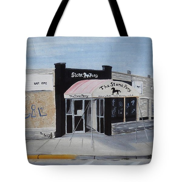Tote Bag featuring the painting End Of An Era by Patricia Arroyo