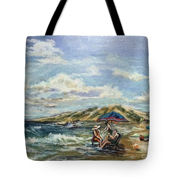 End Of Beach Day  Tote Bag