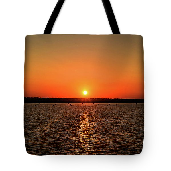 Tote Bag featuring the photograph End Of Day by April Reppucci