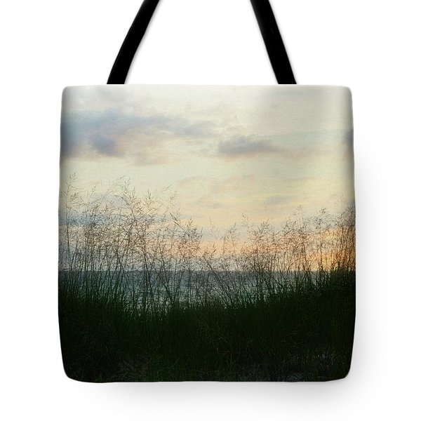 Tote Bag featuring the photograph End Of Day At Pentwater by Michelle Calkins