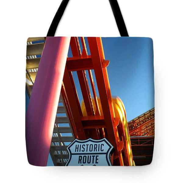End Of Route 66 2 Tote Bag