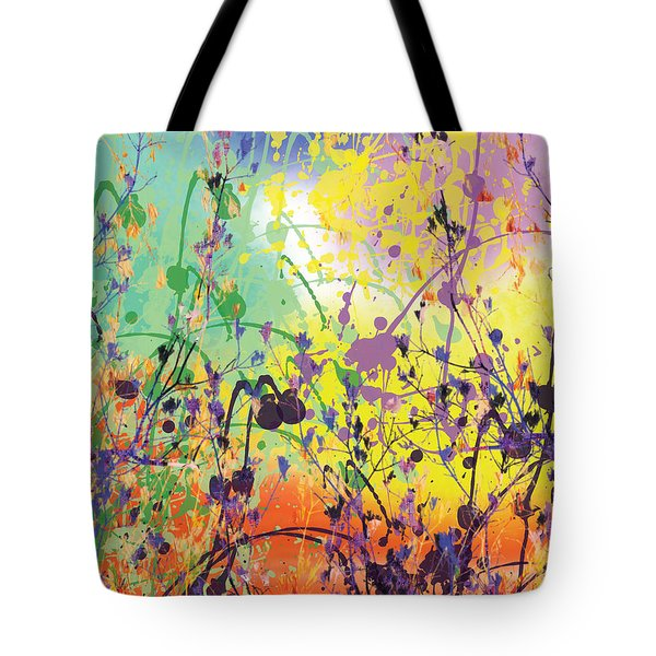 Tote Bag featuring the digital art End Of Summer 2015 by Trilby Cole