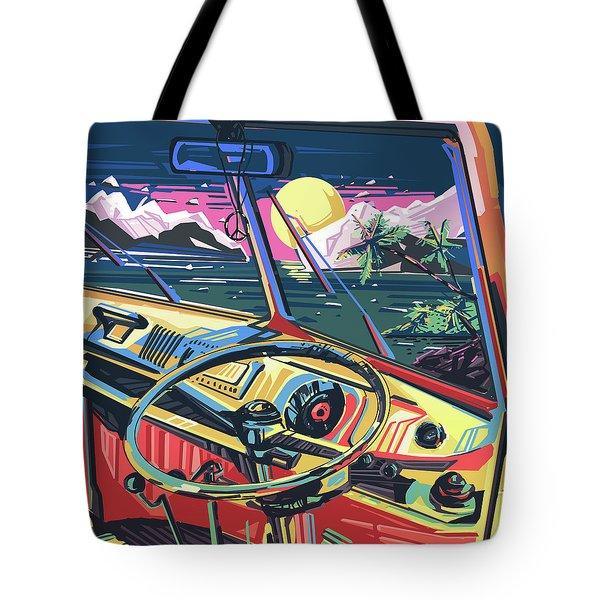 End Of Summer Tote Bag by Bekim Art