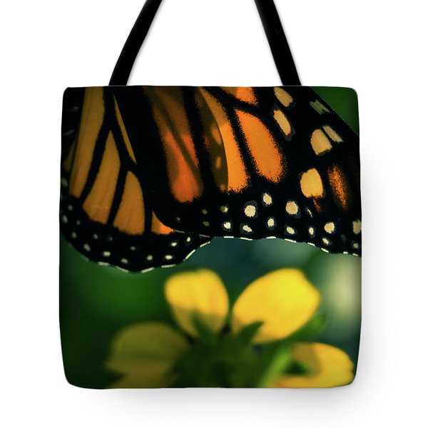 End Of Summer Monarch Tote Bag