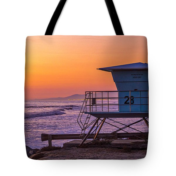 End Of Summer Tote Bag by Peter Tellone