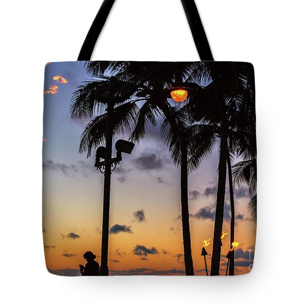 End Of The Beutiful Day.hawaii Tote Bag