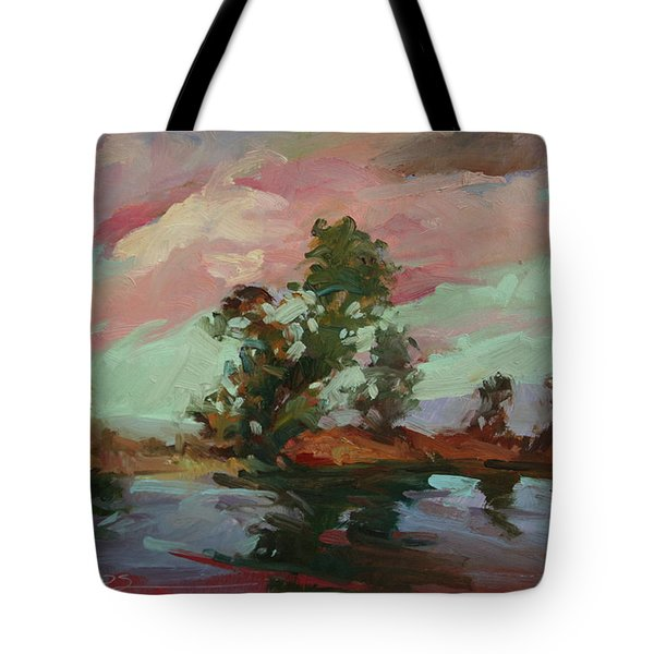 End Of The Cottonwoods Tote Bag
