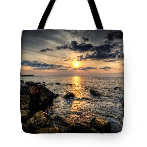 End Of The Day Tote Bag by Everet Regal