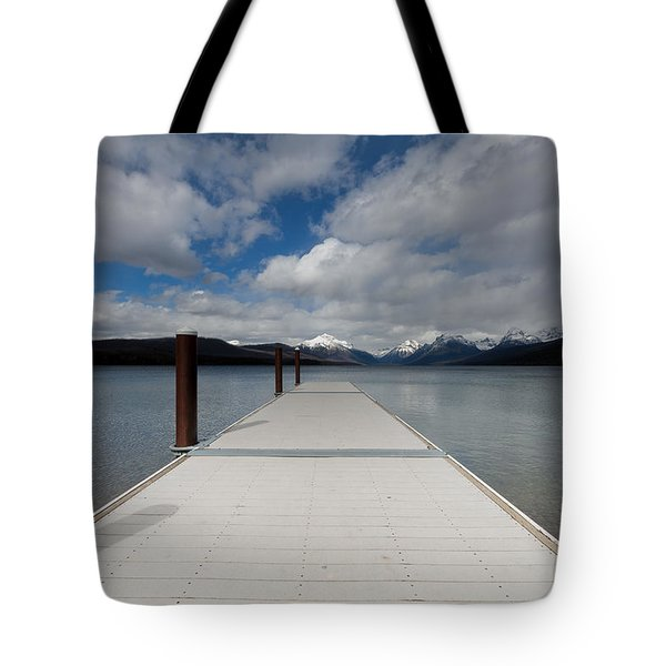 End Of The Dock Tote Bag