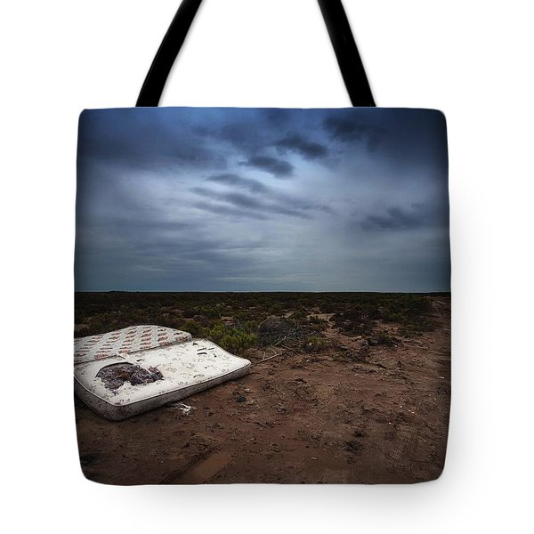 Tote Bag featuring the photograph End Of The Earth by Tim Nichols