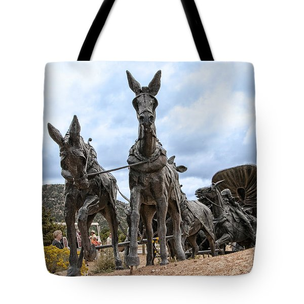 End Of The Long Trail Tote Bag