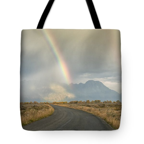 End Of The Rainbow Tote Bag by Sandra Bronstein