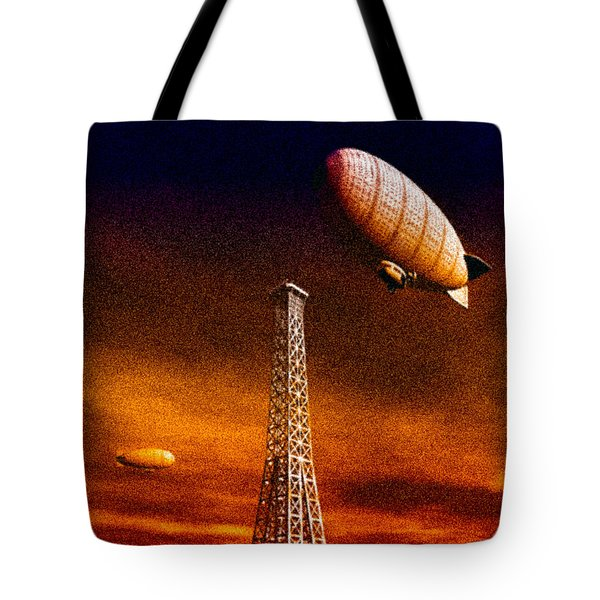 End Of The Road Tote Bag by Bob Orsillo