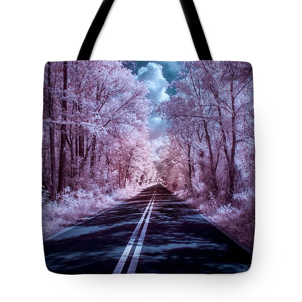 Tote Bag featuring the photograph End Of The Road by Louis Ferreira