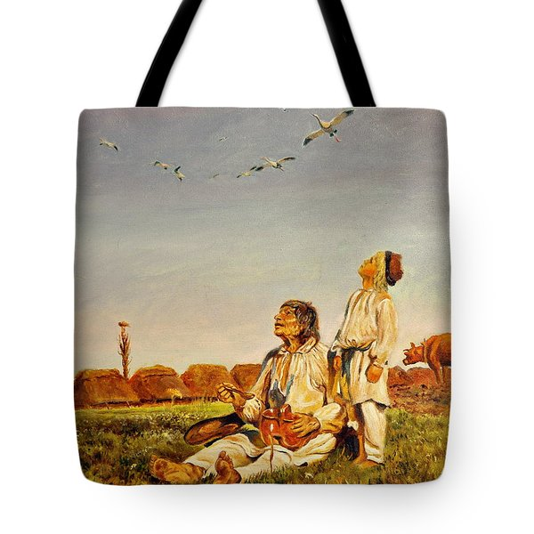 End Of The Summer- The Storks Tote Bag