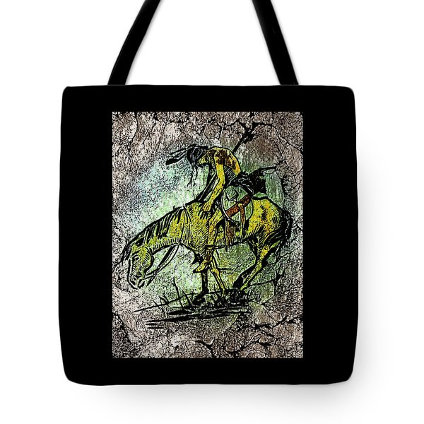 End Of The Trail 2 Tote Bag