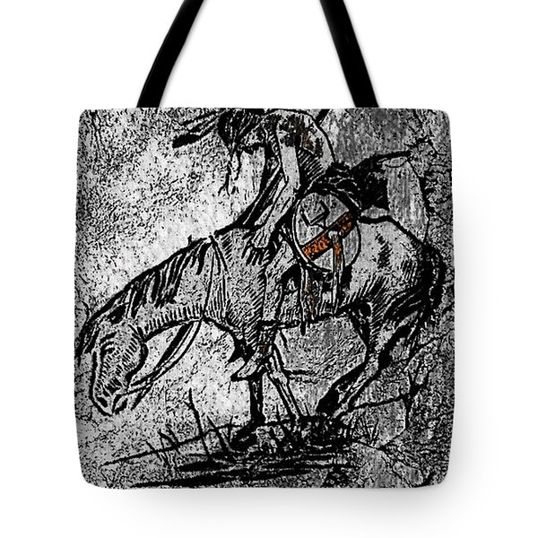 End Of The Trail 3 Tote Bag