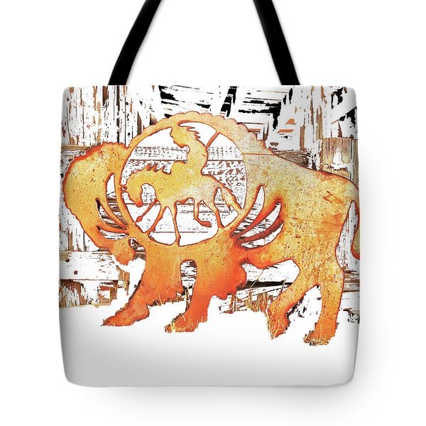 Tote Bag featuring the photograph End Of The Trail by Larry Campbell