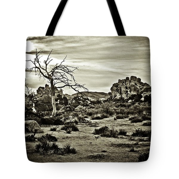 Tote Bag featuring the photograph End Of The Trail by Tom Vaughan