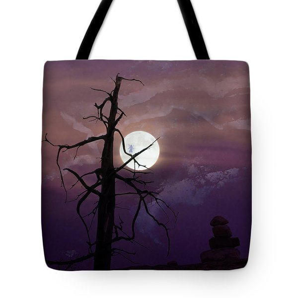 End Of Trail Tote Bag by Ed Hall