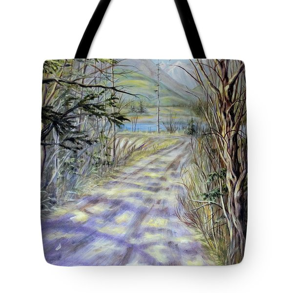 End Of Winter Tote Bag