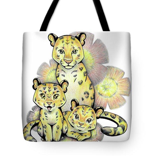 Endangered Animal Amur Leopard Tote Bag