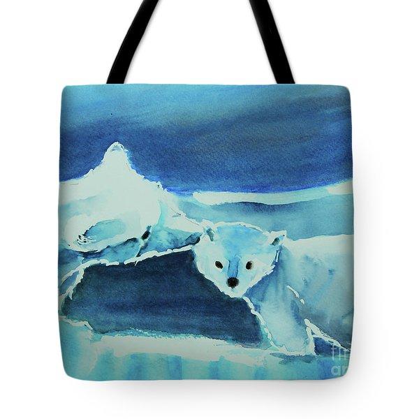 Endangered Bears Tote Bag