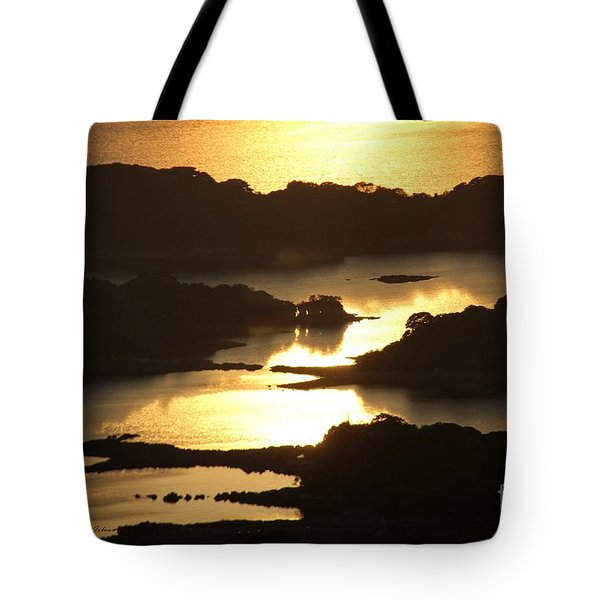 Tote Bag featuring the photograph Ending Of The Day 3 by Yumi Johnson