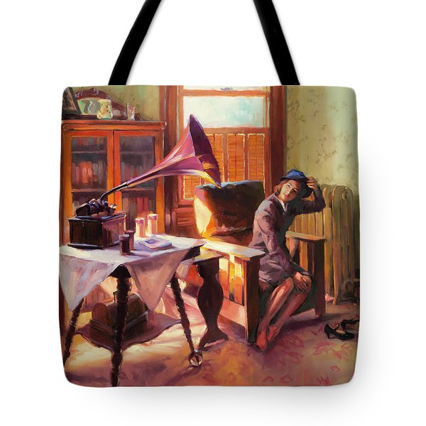 Ending The Day On A Good Note Tote Bag